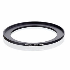 77mm to 95mm 77-95 77-95mm77mm-95mm Stepping Step Up Filter Ring Adapter