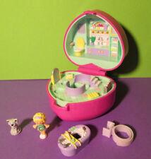 Polly Pocket mini ♥ Bathtime Fun ♥ RING CASE ♥ ringdose ♥ 1991 ♥ RAR