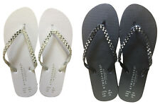 LADIES FLIP FLOPS SUMMER SANDALS UK STORE SWIM BEACH COLLECTION S/M/L
