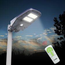 Lampione ad energia solare a led da Esterno con Pannello Fotovoltaico per viali