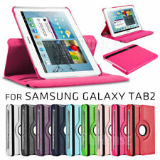 "Smart Case 360 Rotating Leather Cover Swivel Stand For Samsung tab 2 10.1"" P5100"