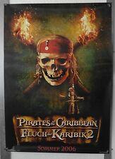 DS10096 - KINOPLAKAT - Pirates of the Caribbean / Fluch der Karibik 2 - Advance