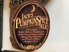 BEER TAP HANDLE JACK'S PUMPKIN SPICE ALE