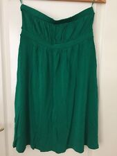 Emerald Green Dress By Topshop - Size UK 10