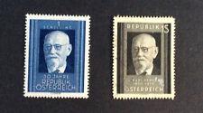 Austria #557, Mint, OG, #573, Used, Both hinged.