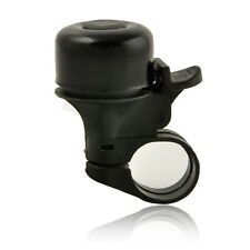 Black Metal Ring Handlebar Bell Alarm Horn Sound for Bike Bicycle Cycling NEW