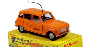 DAN TOYS Renault 4L Dépannage Autoroutes , Limited Ed.