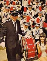 UNIVERSITY OF MISSISSIPPI BAND Uniforms by Ostwald James Ferguson 5.5x7 postcard