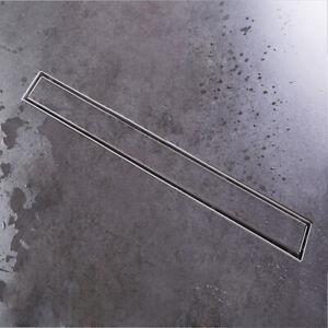 Duschrinne 2 In1 Bodenablauf Duschablauf Befliesbar Ablaufrinne Mit Siphon