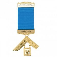 More details for craft past masters breast jewel with engraved details