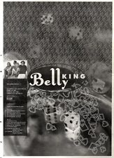 "18/2/95PGN60 ALBUM ADVERT 15X11"" BELLY : KING (TOUR DATES)"