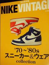 Nike Vintage book shoes promo design photo collection Air Jordan 70s 80s