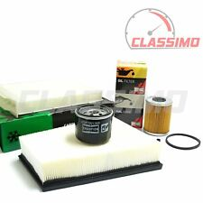Air Oil Fuel Cabin Filter Service Kit for RENAULT MEGANE Mk2 1.9DCi - 2002-2009