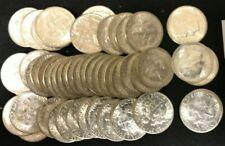 Roll of 50 BU Silver Roosevelt Dimes 1955-S    B122