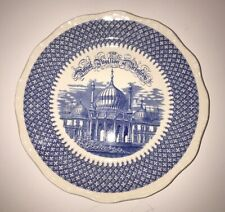 Vtg Mason's Patent Ironstone China England The Royal Pavilion At Brighton Plate
