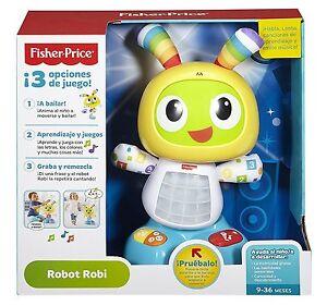 Fisher Price Robot Interactive Bébé Jouet Adaptable Croissance Enfant Fille