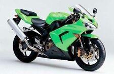 For Kawasaki NINJA ZX10R 2004-2005 Green Injection Fairing Body Work Frame Kit