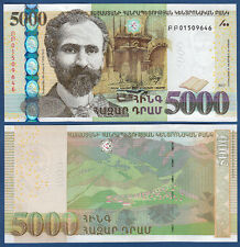 ARMENIEN / ARMENIA 5000 Dram 2012  UNC  P. 56