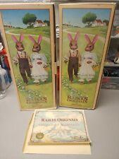 Robert Raikes,1st Edition Adorable Rabbits, Raikes Originals By Applause,1987
