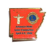 PIN/HATPIN Vintage Arkansas State Convention 2008 LIONS CLUB MEMORABILIA