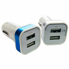 In Car Phone Charger 2 Port Bullet USB 3.1 Socket For Smart Mobile Phones Tablet