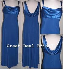 FIXER Formal Bridesmaid Dress Formal Gown Evening Coktial Long XS Fit 2/4 Royal