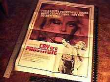 CRY OF A PROSTITUTE MOVIE POSTER SEXPLOITATION