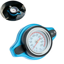 With Temperature Gauge 0.9BAR Small Head Thermostatic Radiator Cap Fit For Car