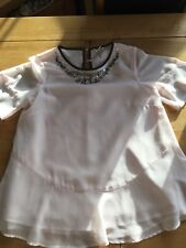 Girls NEXT Pink Blouse Size 12 Yrs