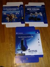 Three Playstation Promotional Display Boxes