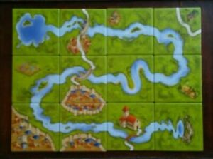 Carcassonne RIVER 1 Mini Expansion The River I ORIGINAL.New Edition New, NO BOX