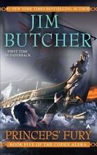 Codex Alera #5: Princeps' Fury by Jim Butcher (2009, Mass Market Paperback)