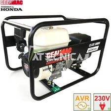 Generatore di corrente HONDA 2,6Kw GENMAC CLICK AVR gruppo elettrogeno stabilizz