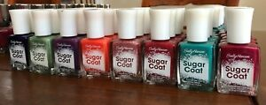 Sally Hansen Sugar Coat Nail Polish - Multiple Colors - NEW