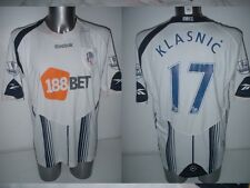 Bolton Wanderers Ivan KLASNIC Adult Large Shirt Jersey Football Soccer Croatia