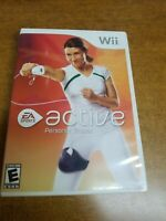 EA Sports Active: Personal Trainer (Nintendo Wii, 2009)(Tested)(Complete)