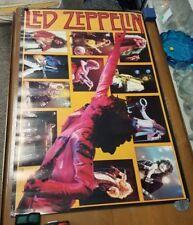 1985, collage poster, Led Zeppelin. Plant, Page, Bonham, Jones, 24x36