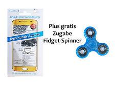 Handyversiegelung Panzerglas Displayschutz Folie plus gratis Fidget Spinner