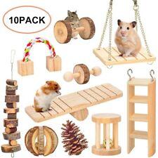 Hamster Chew Toys Gerbil Rat Guinea Pig Chinchilla Chew Toys Accessories Set