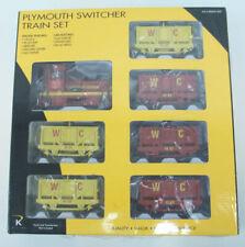K-Line K1417 Plymouth Switcher Train Set LN/Box