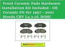 Front Ceramic Brake Pad Fit For 1997 1998 1999 2000 2001 Honda CRV  2.0L DOHC