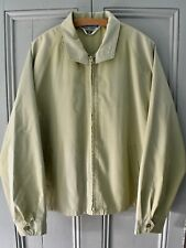 Vtg 70s Holiday Fashions Zip Up WIndbreaker Harrington Jacket Sports Drizzler XL