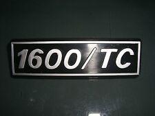 Emblem / Badge Fiat 131 1600 / TC aus Plastik , ca. 12 cm lang