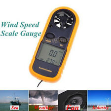 CE Approved Digital Handheld Anemometer Wind Speed Meter ThemometerSailing LCD R