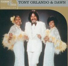 TONY ORLANDO & DAWN - PLATINUM & GOLD COLLECTION (NEW CD)