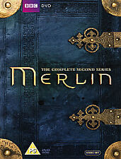 Merlin - Series 2 - Complete (DVD, 2010, 6-Disc Set) - NEW & SEALED