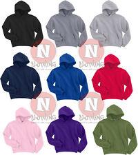 Gildan Kids Hooded Sweatshirt Childrens Plain Hoodie Blank Hoody - Heavy Blend
