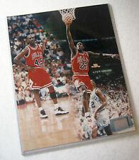 Michael Jordan Chicago Bulls Vintage 1990s NBA Basketball 8x10 Color AGFA Matte