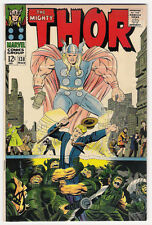 (1966) THE MIGHTY THOR #138 ULIK! SIF! TALES OF ASGARD! JACK KIRBY! 6.5 / FINE+