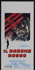 LOCANDINA, IL BARONE ROSSO Von Richthofen and Brown CORMAN, LAW,POSTER AFFICHE B